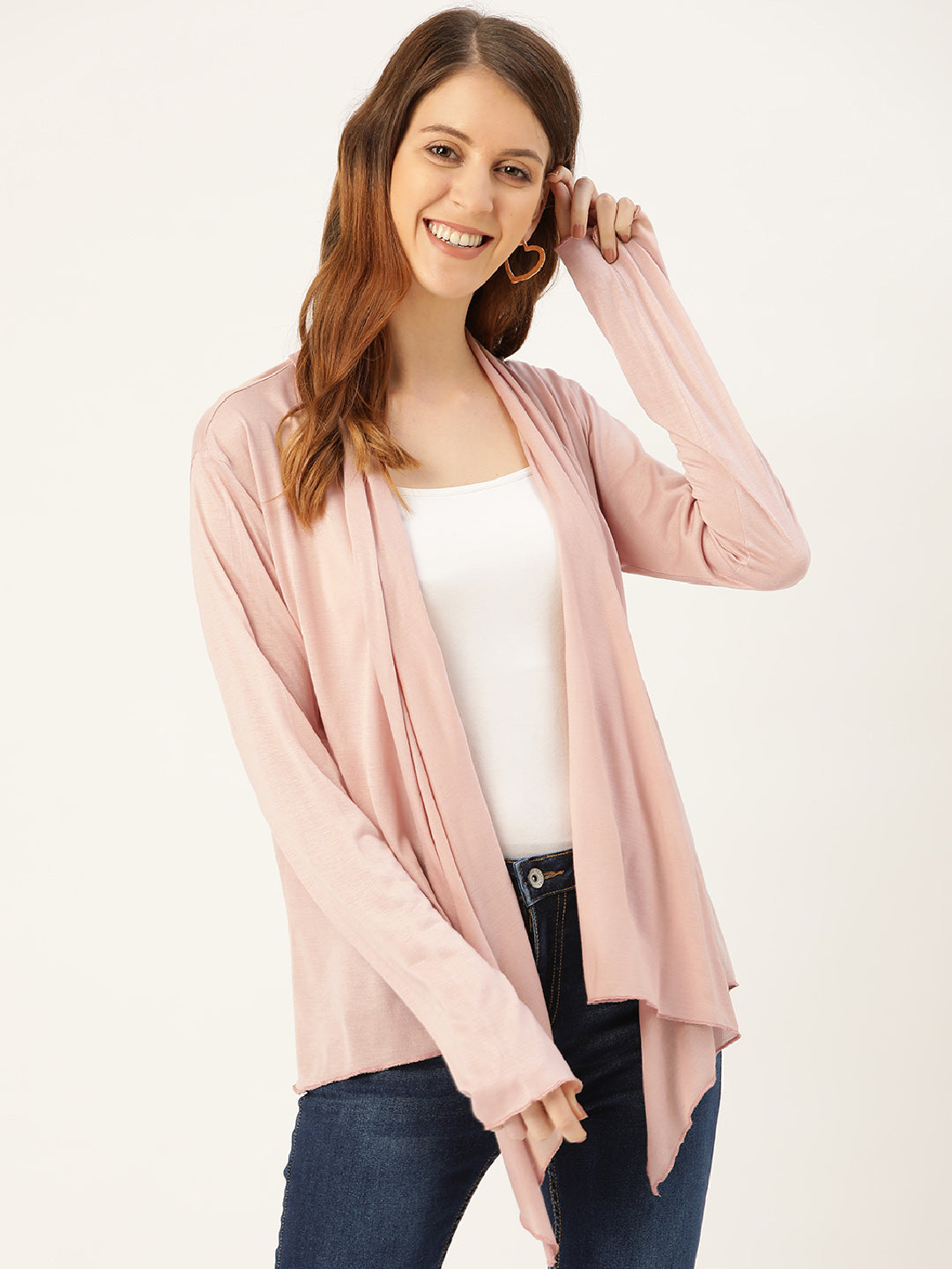 Women Nude Shrug