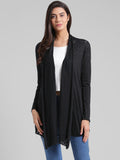 Black Long Shrug