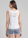 Lace Fringes Top