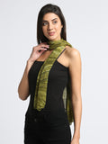 Green Printed Scarf