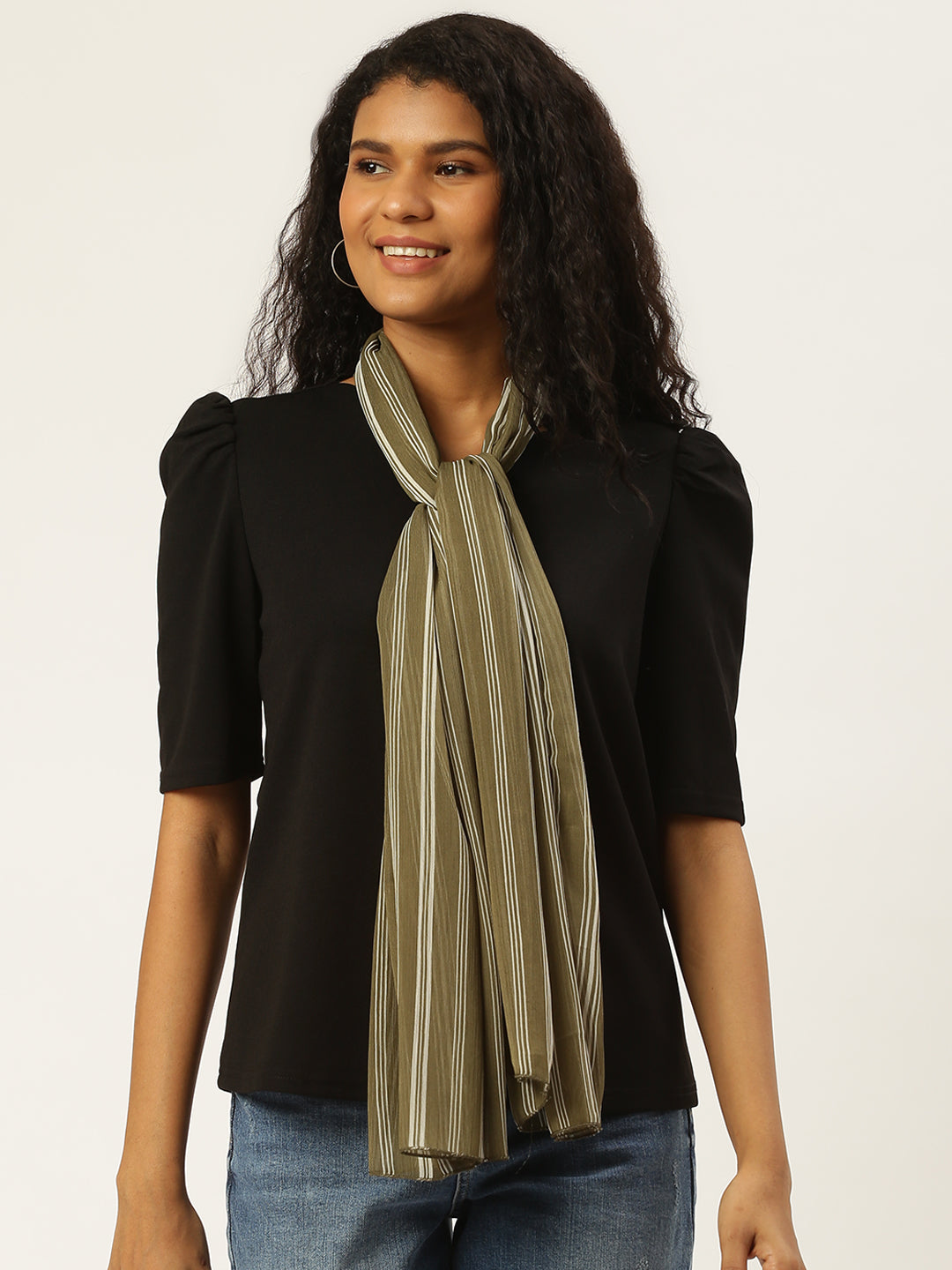 Stripes Print Scarf