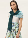 Two Shade Green Scarf