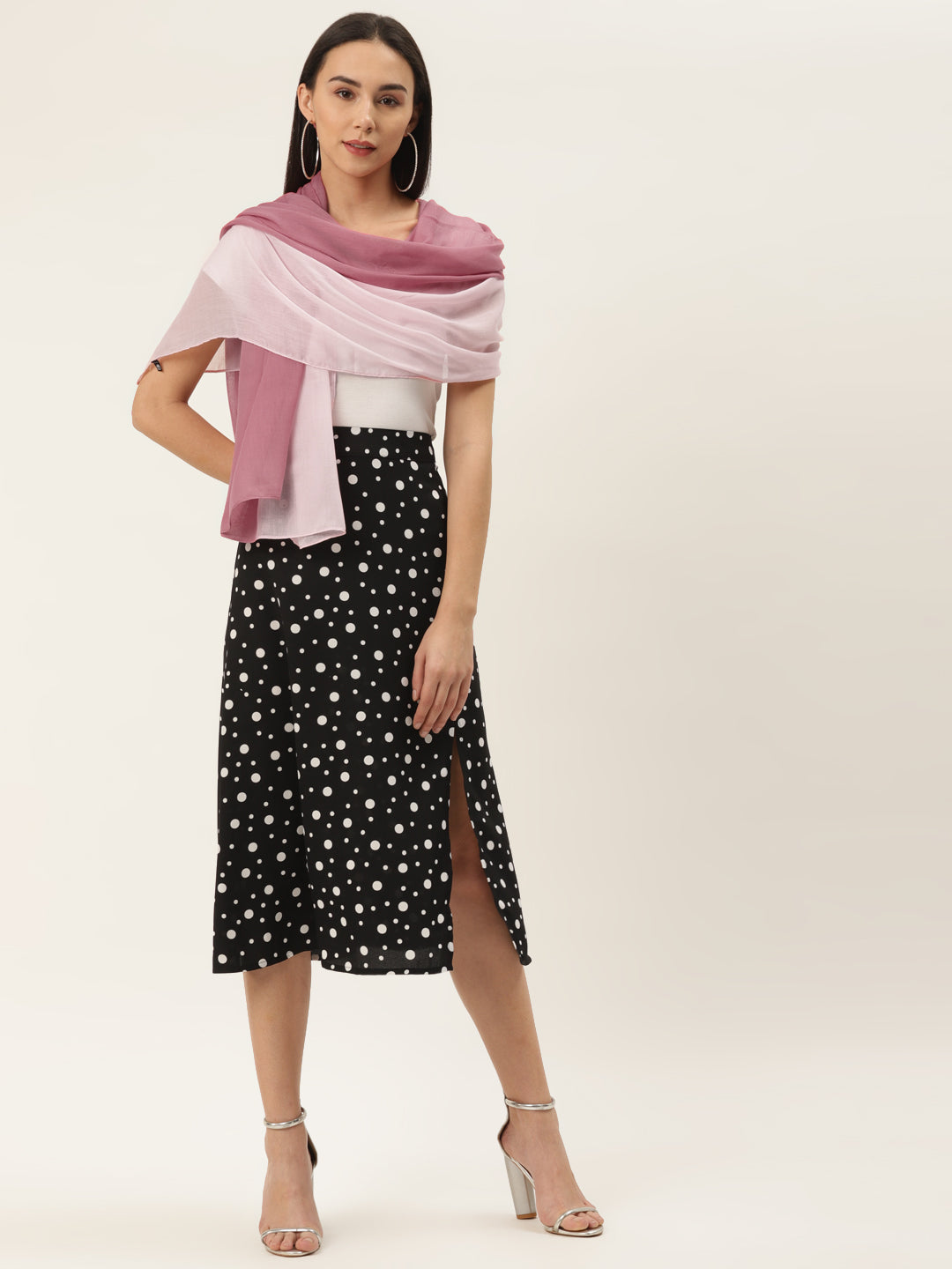 Two Shade Pink Scarf