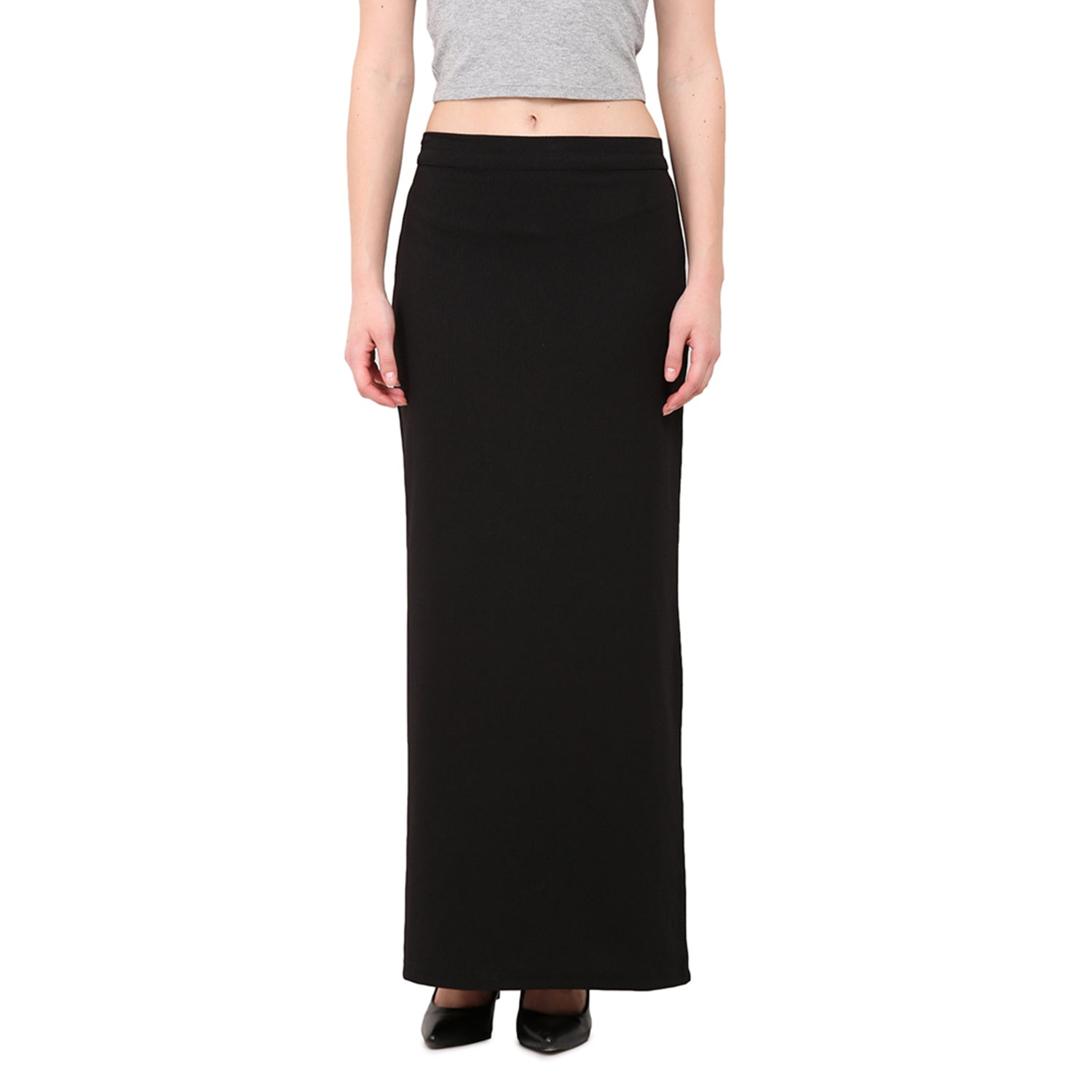 Back Slit Straight skirt