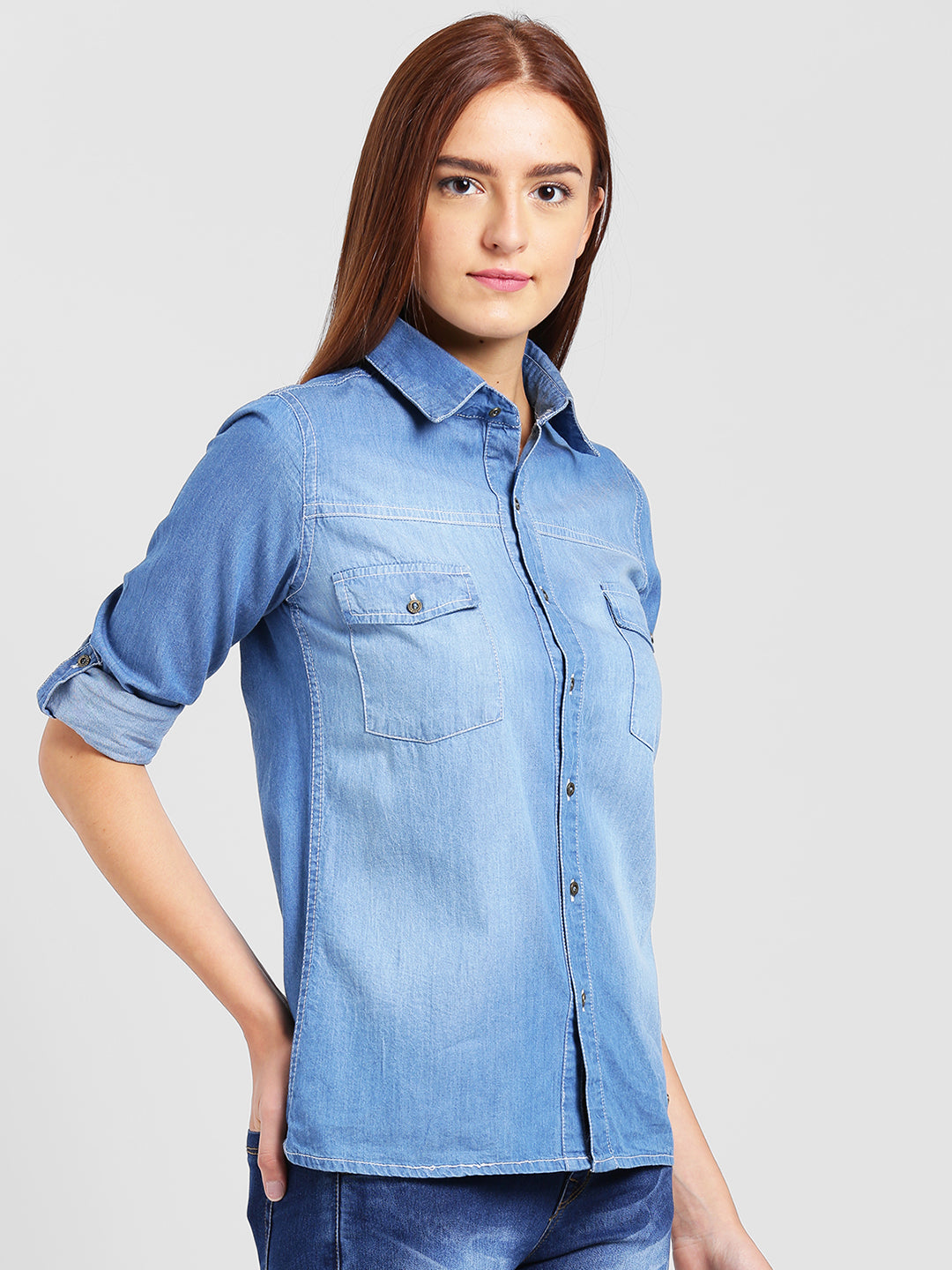 Denim Wahed Shirt