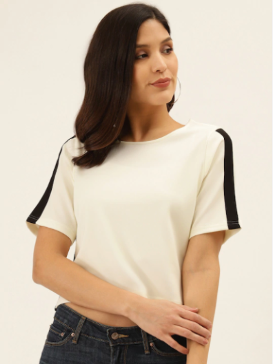 Basic Off White Top