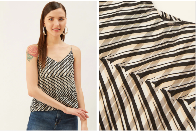 Muti Stripe Party Top