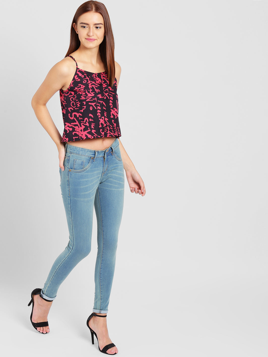 Typograpghy Cami Top