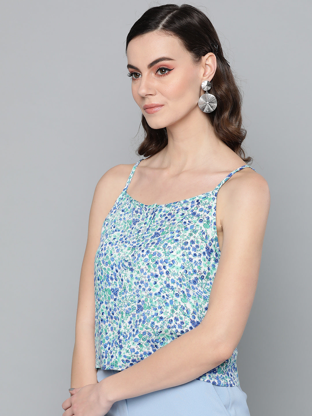 Multi Floral Cami Top