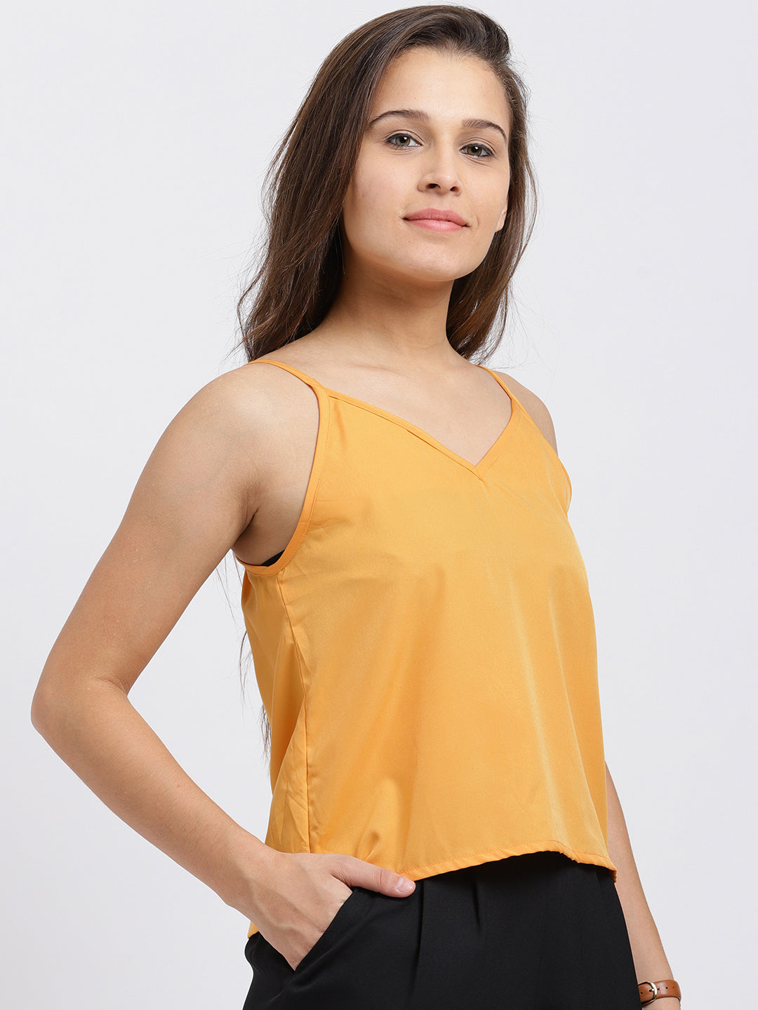 Solid Yellow Cami Top