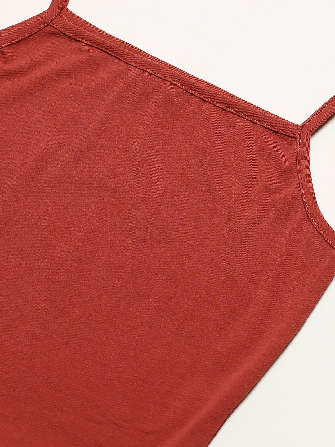 Solid Rust Cami Top