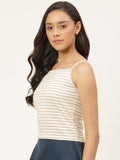 Shimmer Stripe Cami Top