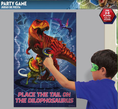 Party Game - Pin the tail on Dilophosaurus