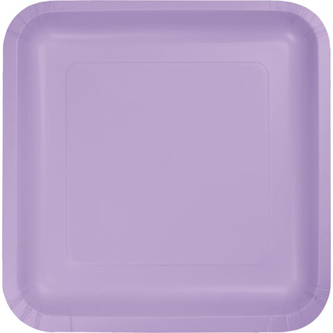 Plates Square paper in Luscious Lavender 18Pk