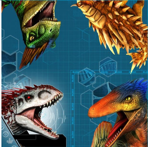 Jurassic World Beverage Napkins Pk16