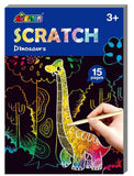 Mini Dinosaurs Scratch Book