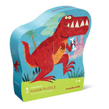 Shaped Box Floor Puzzle Dinosaur 36 pc