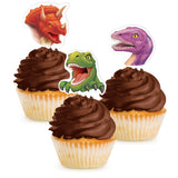 Dino Blast Cupcake Toppers packet of 12