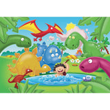 Dino Friends Plastic Bath Puzzle (12pieces)