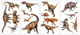 Dinosaur Wall Stickers, set of 4 sheets.
