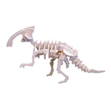 Dinosaur model in a tin 3D puzzle