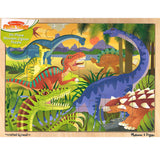 Melissa and Doug 24pc Dinosaur Jigsaw Puzzle
