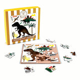 Magnetic 25pc Jigsaw Puzzle Dinosaur