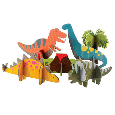 Pop-out & Play Dinosaurs