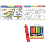 Dinosaur Colouring in Placemat & crayons that wipe off