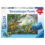 Primeval Giants - Ravensburger Puzzle 2 x 24 pieces