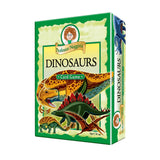 Dinosaur Quiz Card Game with Dice