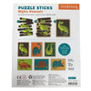 Puzzle Sticks - Mighty Dinosaur 6 puzzles