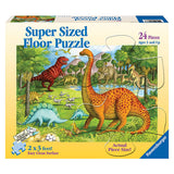 Dinosaur Pals Super Size 24pc floor puzzle