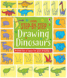 Step by Step Drawing - Dinosaurs