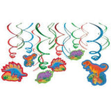 Hanging Swirls Dinosaur Value Pack