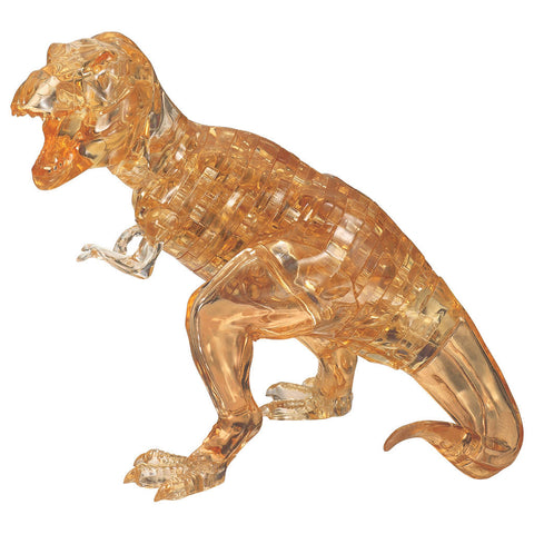 T-Rex Crystal 3D Puzzle sparkly gold