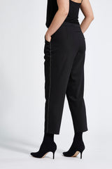 Charisma Loose Housut Cropped - Black