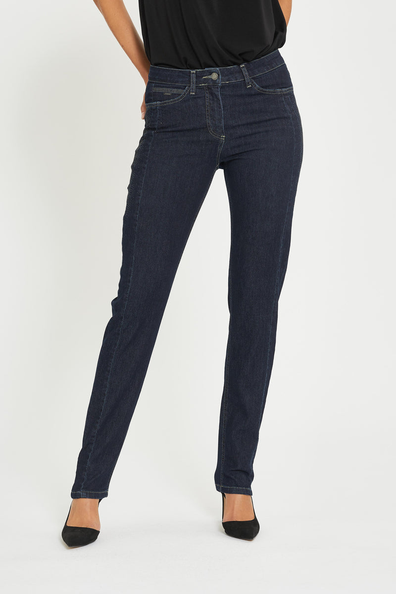 Charlotte Hot Regular ML - Dark Blue Denim