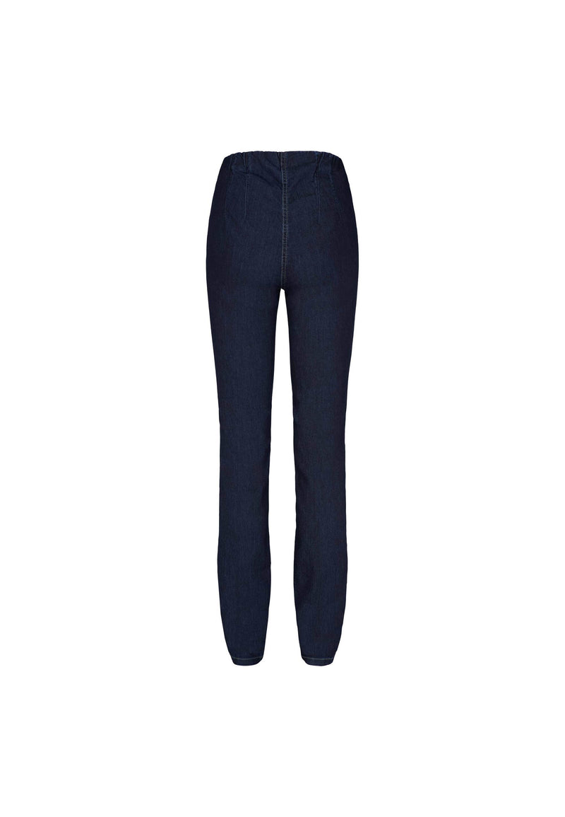 Vicky Slim Housut - Dark Blue Denim