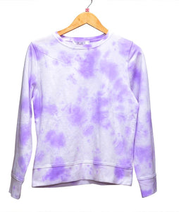 Purple Tie-dye crewneck ANI X YOUNIVERSE