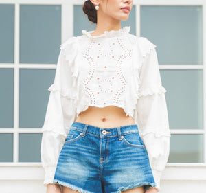 Essence Frill Top