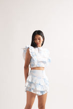 Load image into Gallery viewer, Blue Tie-Dye Co-ord Set