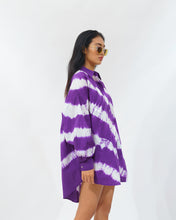 Load image into Gallery viewer, Tie Dye Shirt Dress