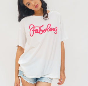 Towel Embroidered T-shirt