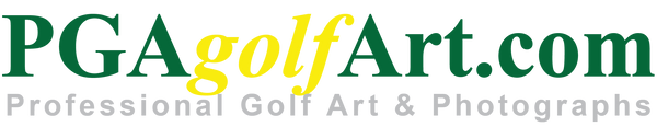 PGAgolfArt.com Professional Golf Art and Photos