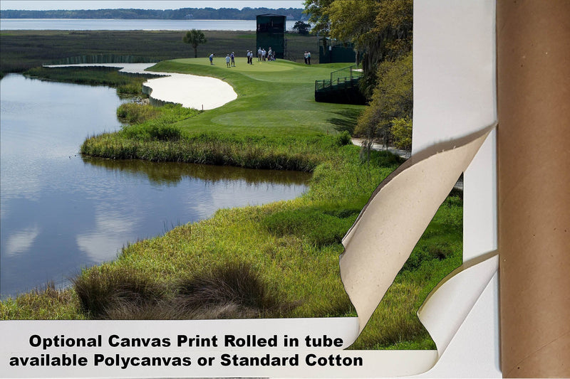 Harbour Town Golf Links Hole 17 by Phil Reich Sea Pines Resort PGA Golf 1500 8x10-40x80in Art Print CHOICES   - PGAgolfArt.com Professional Golf Art & Photos