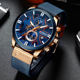 Curren 8346 Blue