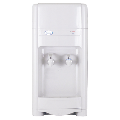 Bench Top - HOT & COLD Plumbed In Water Cooler With Free Filter & Shipping