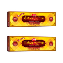 Load image into Gallery viewer, Golden Saffron Incense Sticks - Pack of 2