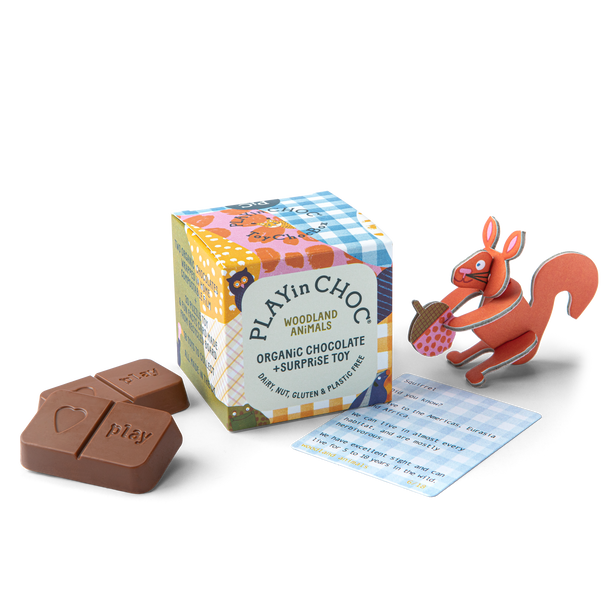 ToyChoc Box<br>WOODLAND ANiMALS